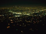 Night View of Los Angeles City Lights Seen from Griffith Observatory - Nadia M. B. Hughes
