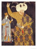 Portrait of Sultan Selim II Firing a Bow and Arrow - Nakkep Reis Haydar