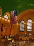 Interior View of Grand Central Station, New York, USA - Nancy & Steve Ross