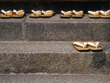 Zori Sandals on Steps of a Shrine, Kyoto, Japan - Nancy & Steve Ross