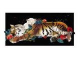 Tiger And Cub Original - Nancy Tillman
