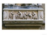 Relief Depicting Artists and Craftsmen at Work - Nanni di Banco