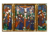 Triptych Depicting the Crucifixion, Limousin - Nardon Penicaud