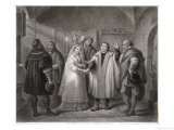 Martin Luther -Religious Reformer Marries Katharine Von Borna in Amsdoff's Housewittenberg - Nargeot