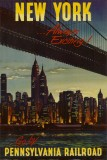 New York par la Pennsylvania Railroad