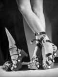 Women Wearing Unrationed Shoe Soles During the War - Nina Leen