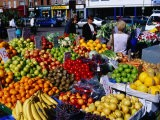 Fruit and Vegetable Stall at Moore Street Market, Dublin, Ireland - Oliver Strewe
