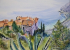 Painting - Eze village