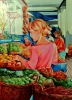 Painting - Marché