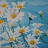 Painting - marguerite 4