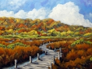 Painting - Marshlands in Fall