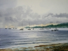 Painting - Martinique, plage de Sainte- Anne