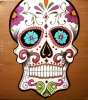 Painting - Mexican skull