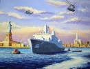 Painting - USS New-York