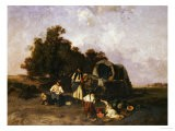 A Gypsy Encampment, 1895 - Pal Bohm
