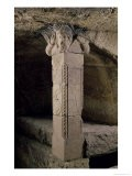 Column from the Crypt, with the Head of Moses Forming the Capital, Ad 415 - Paleo-christian