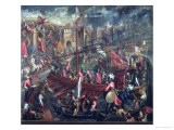 The Taking of Constantinople - Palma Il Giovane