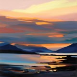 RED ON THE CUILLIN - Pam Carter