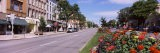 Buildings Along a Road, Canandaigua, Ontario County, New York State, USA - Panoramic Images