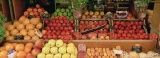 Close-up of Fruits in a Market, Rue De Levy, Paris, France - Panoramic Images