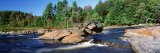 River Flowing through the Forest, Moose River, Adirondack State Park, New York, USA - Panoramic Images