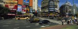 Vehicles Moving on a Road, Buenos Aires, Argentina - Panoramic Images