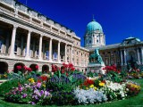 National Gallery Building Exterior and Gardens, Royal Palace Area, Buda - Paolo Cordelli