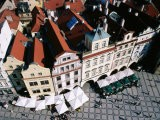 Overhead of Houses in Old Town Square from Town Hall Tower - Paolo Cordelli