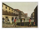 "Liveried Slaves Carrying a Sedan Chair, Brazil, from ""Le Costume Ancien Et Moderne"" - Paolo Fumagalli"