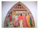 Birth of the Virgin, Cycle of the Lives of the Virgin and St. Stephen, Cappella Dell'Assunta - Paolo Uccello