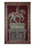 Equestrian Monument of Sir John Hawkwood - Paolo Uccello