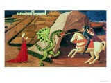 St. George and the Dragon, circa 1439-40 - Paolo Uccello