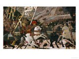 The Battle of San Romano in 1432 - Paolo Uccello