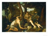Adam and Eve after the Expulsion from Paradise - Paolo Veronese
