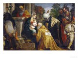 Adoration of the Three Magi - Paolo Veronese