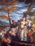 The Finding of Moses, c.1570-75 - Paolo Veronese
