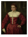 Portrait of a Woman From the Fugger Family - Paris Bordone