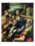 Madonna with Saint Zacharias - Parmigianino