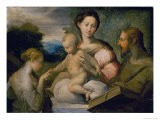 Mystical Wedding of Saint Catherine - Parmigianino