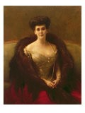 Portrait of Princess O.V. Paley - Pascal Adolphe Jean Dagnan-Bouveret