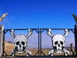 Skull and Crossbones Motifs at Park Entrance - Pascale Beroujon