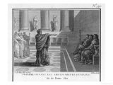 Philip of Macedon Reproaches Roman Ambassadors for the Way They Treat Him - Patas