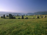 Castlerigg Stone Circle at Dawn, Near Keswick, Lake District National Park, Cumbria, England - Patrick Dieudonne