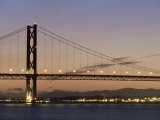 Forth Road Bridge, West Lothian, Fife, Near Edinburgh, Scotland, United Kingdom, Europe - Patrick Dieudonne