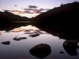 Loch Achray at Sunset, Part of Loch Lomond and the Trossachs National Park, Stirlingshire, Scotland - Patrick Dieudonne