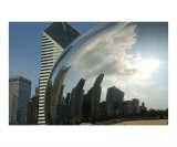 Chicago Skyline Reflected by the Bean - Patrick J. Warneka