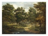 A Forest Scene, Sussex - Patrick Nasmyth