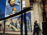A Mural Depicting Middle Eastern Political Propaganda, Tehran, Iran - Patrick Syder