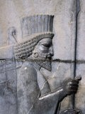 Bas-Relief of the Arrival of the Medes on Apadana Staircase, Persepolis (Takht-E Jamshid), Iran - Patrick Syder
