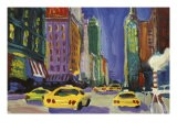 Racing Taxis, New York City - Patti Mollica